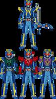 Kamen Rider Lokz: Rising Mode + Emblem Changes