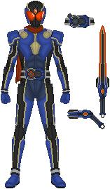 Kamen Rider X-Sede, X-Sede Configuration by Omega-King-DX