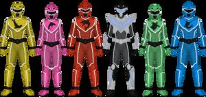 Commission: Aqua Sentai Scubaranger
