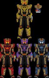 Commission: Kaijin Rider, Final Form by Kamen-Zero