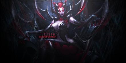 Signature: Elise the Spiderqueen by HappyFaceStar