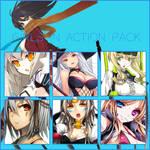 Render Pack: Girls In Action