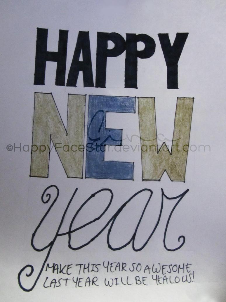 Week #1 Happy New Year by HappyFaceStar
