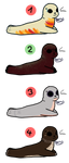 Seal - 7 Points - 1/4 Points - Open by Adoptiverse