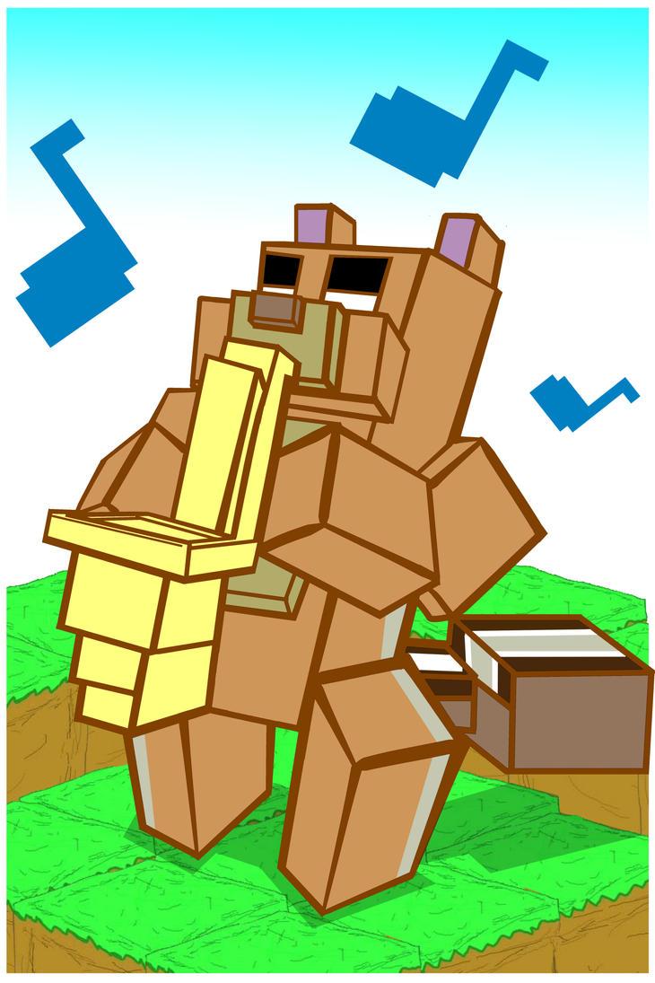 Minecraft style X Anime 1 by Fraescanvas