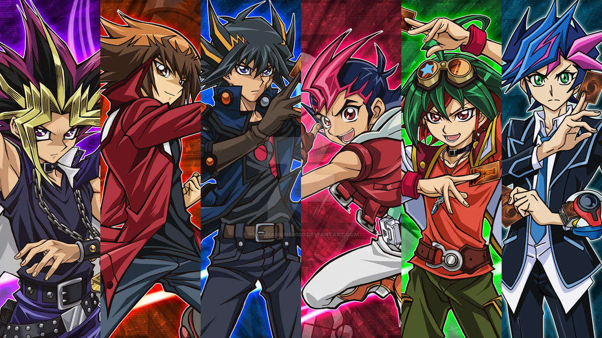 Image result for yugioh protagonists