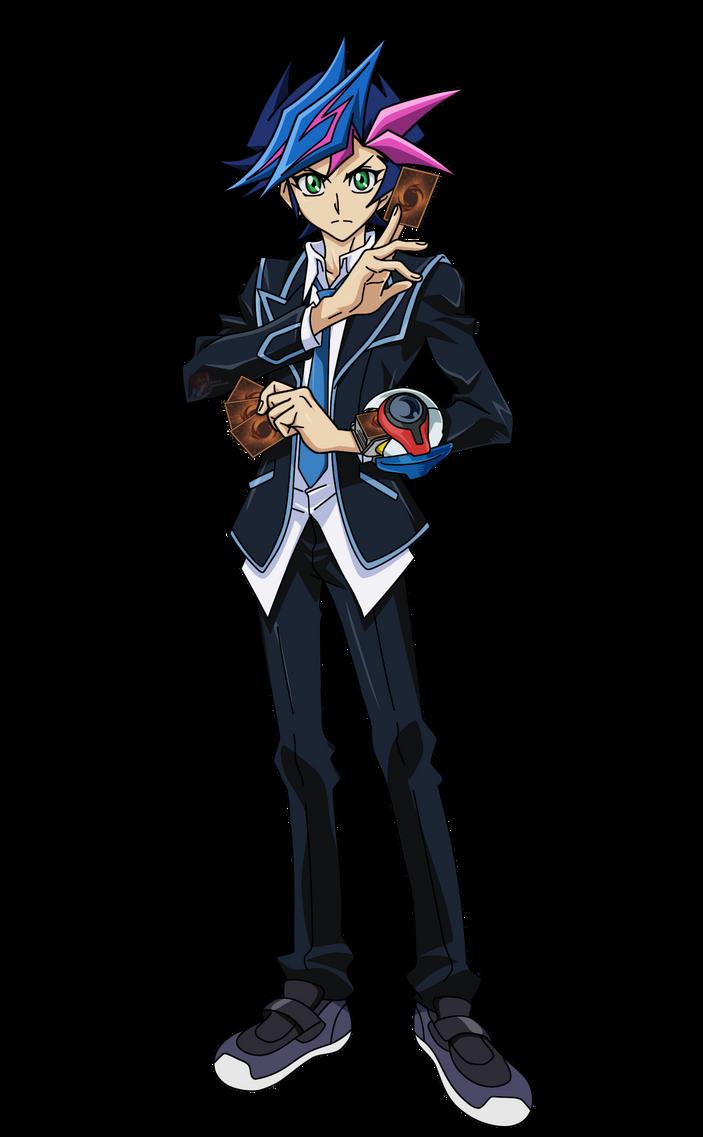 نقاش | | أفضل شخصية بطل في سلسلة يوغي يو ||  Yu_gi_oh__vrains___yusaku_fujiki__render__by_kogadiamond1080-db1ukp1