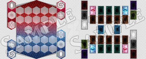 Backgrounds, Textures, and Templates on Yu-Gi-Oh-CYBOTIX