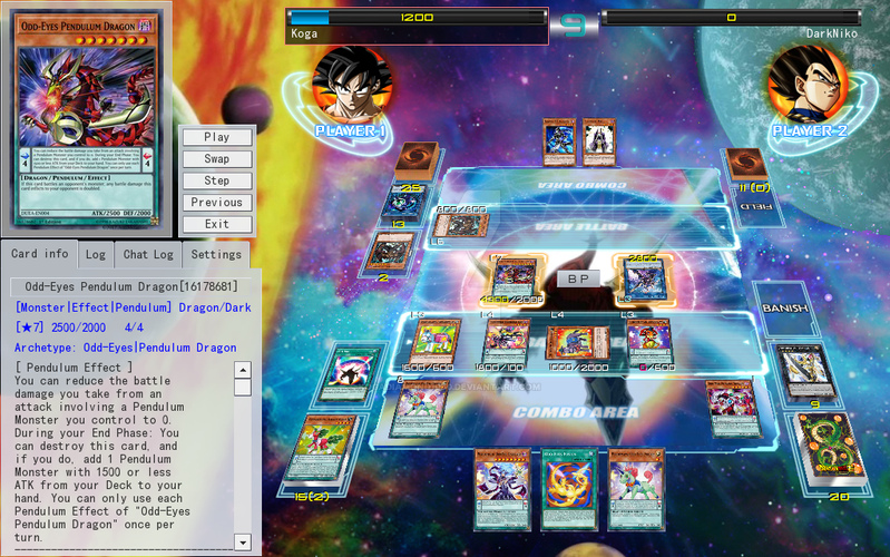 YGOPRO Dragon Ball Super Card Game Texture Finish by KogaDiamond1080