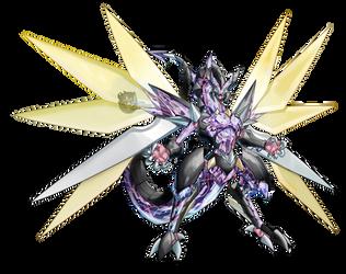 Cyberse Clock Dragon [Full Render] by KogaDiamond1080