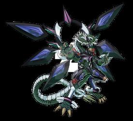 Firewall Dragon Darkfluid - [Full Render]