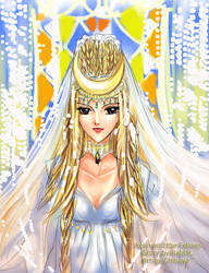 The queen of Moon City by chihaya