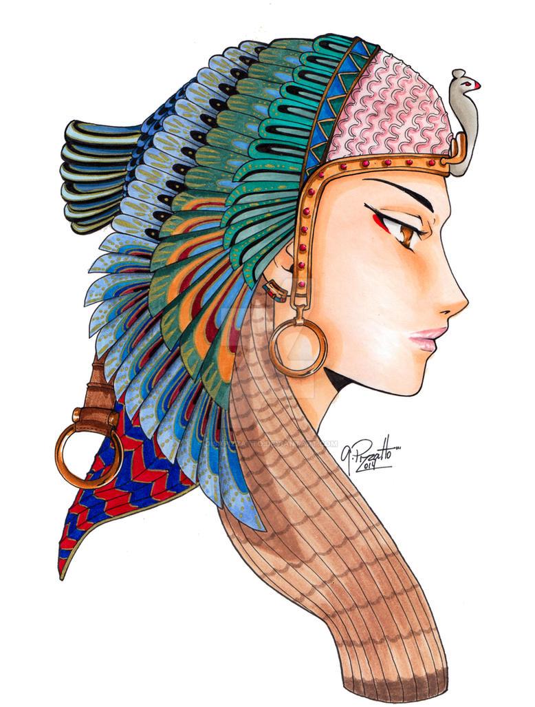 Cleopatra by GisaPizzatto