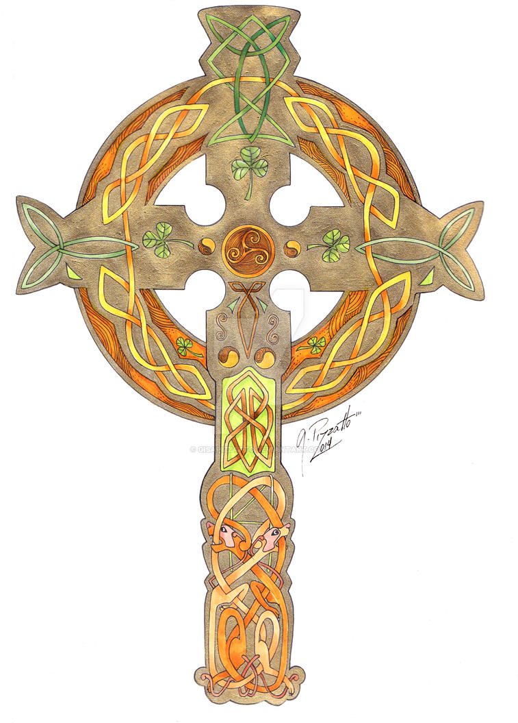 Celtic Cross by GisaPizzatto