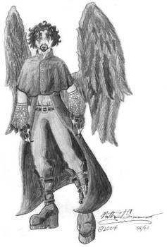 Halloween Costume: Dark Angel