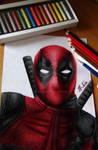 Deadpool | Speed Drawing (Video)