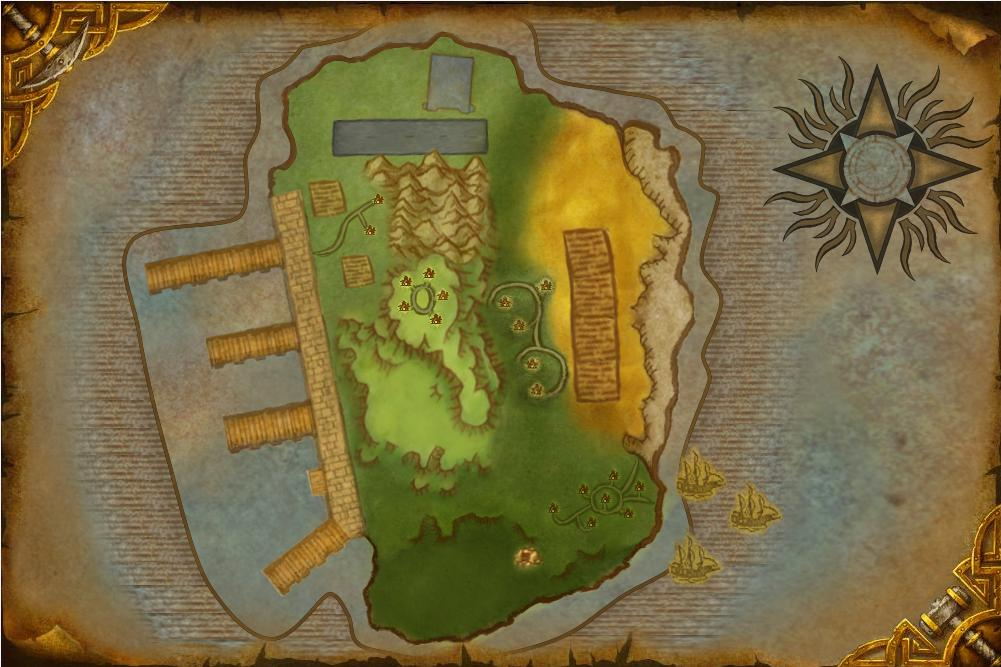 Red Dawn Island Map by Pwn3rb0i