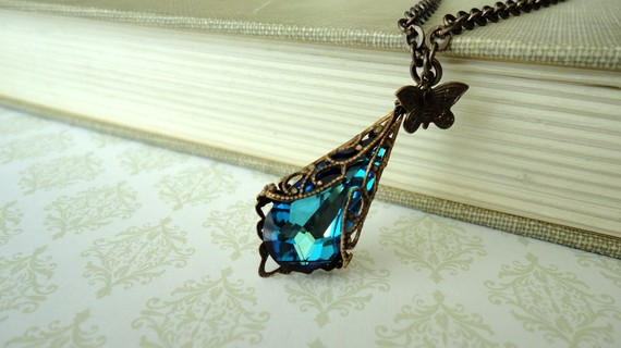 Bermuda blue pendant necklace by daydream jewels on deviantart bermuda blue pendant necklace by daydream jewels mozeypictures Choice Image