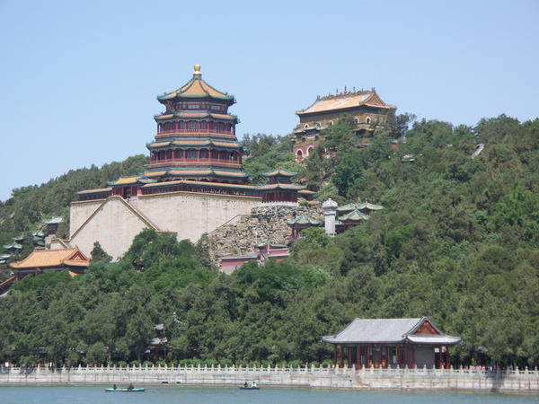 Summer Palace Pagoda by Lady-Xythis