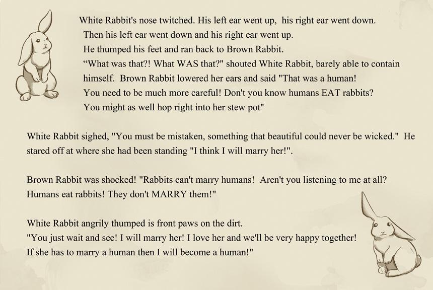 Brown rabbit white rabbit Page 6 by MySweetPhantom