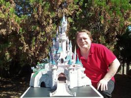 Disney's Sleeping Beauty Paris Castle - Papercraft