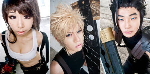 Final Fantasy VII: Heroes by DevilAurora
