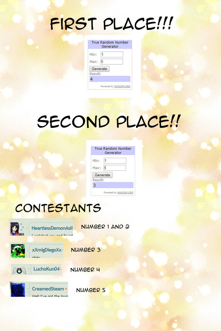 Winners!!! by Yami-Chiby