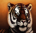 Tiger Painting by BearlyFeline