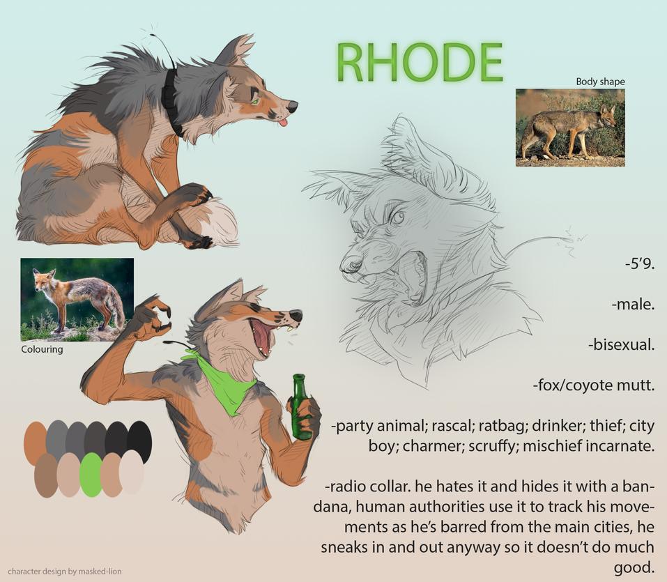 Rhode by BearlyFeline