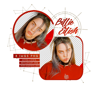 Png Pack 01 | Billie Eilish | by rociomogollon