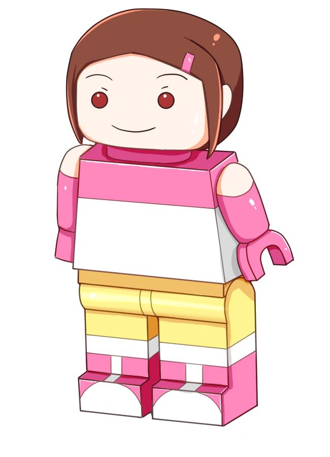 kamiya kari TF Lego by whi-sky