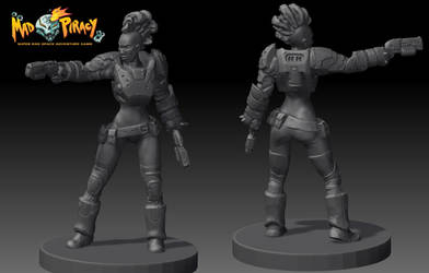 Mad Piracy: Brawler Sculpt by TheIronShoes