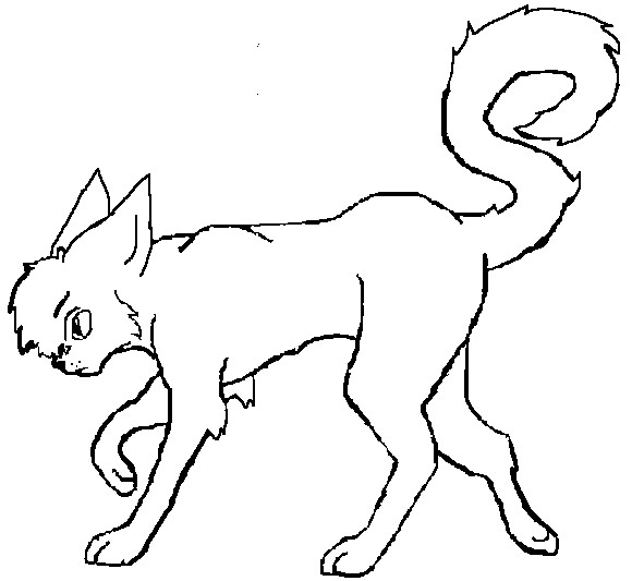 warrior cats clan coloring pages - warrior cats scourge pages coloring pages