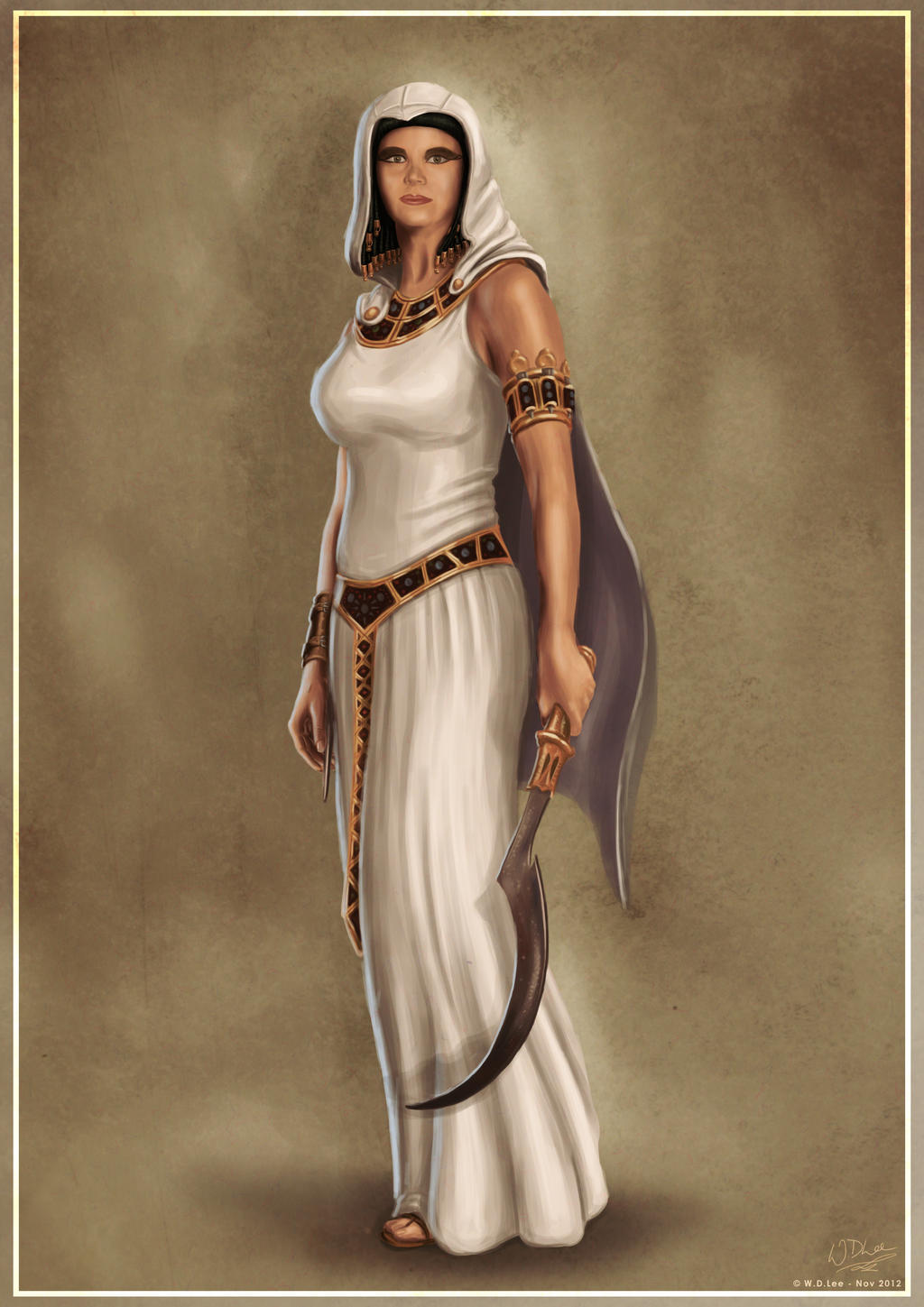 Female Character Assassin S Creed By Duncansguide On Deviantart