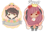 Crowned ladies :commission ID batch 1: