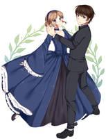 Sabrina and Colin by Kaidachu