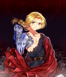 Edward  Elric by Kaidachu
