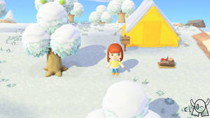 Me Playing Animal Crossing New Horizon!