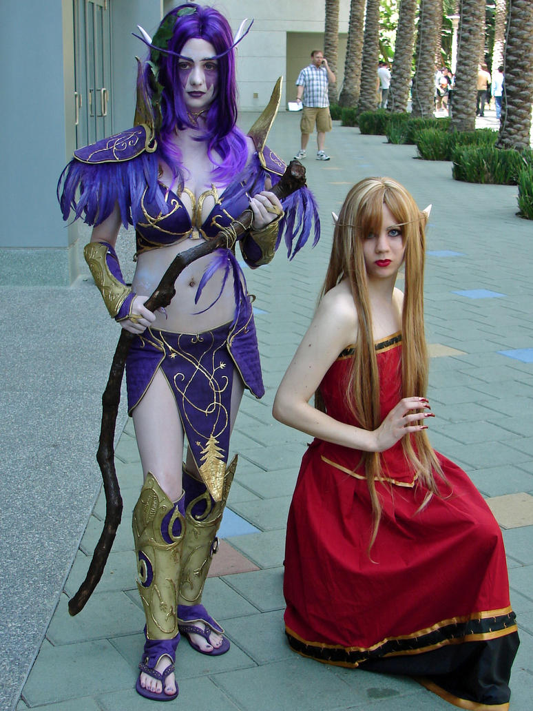 World of warcraft striping blood elf adult clips