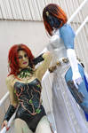 Poison Ivy and Mystique: 3