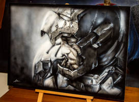 Ironman3 airbrushing by ClintLeeNZ