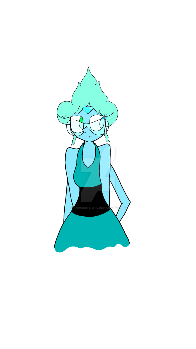 Redesigned Turquoise  (One Of My FanFusions) by animecute-girl