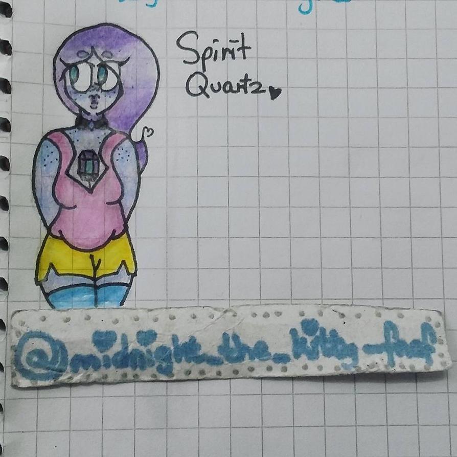 Spirit Quartz Gemsona by animecute-girl