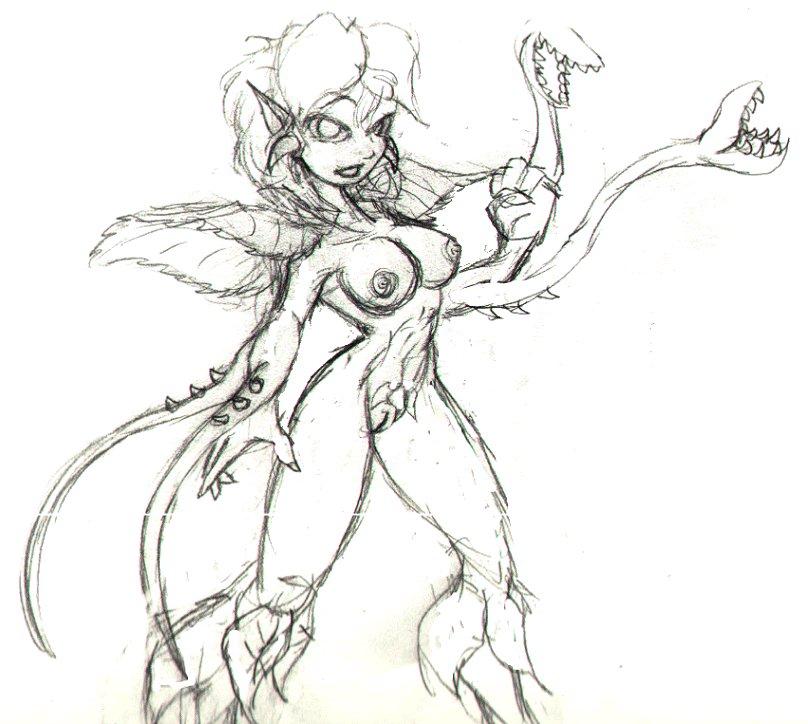 Old Stuff: Biollante K-Girl Erika by Heckfire