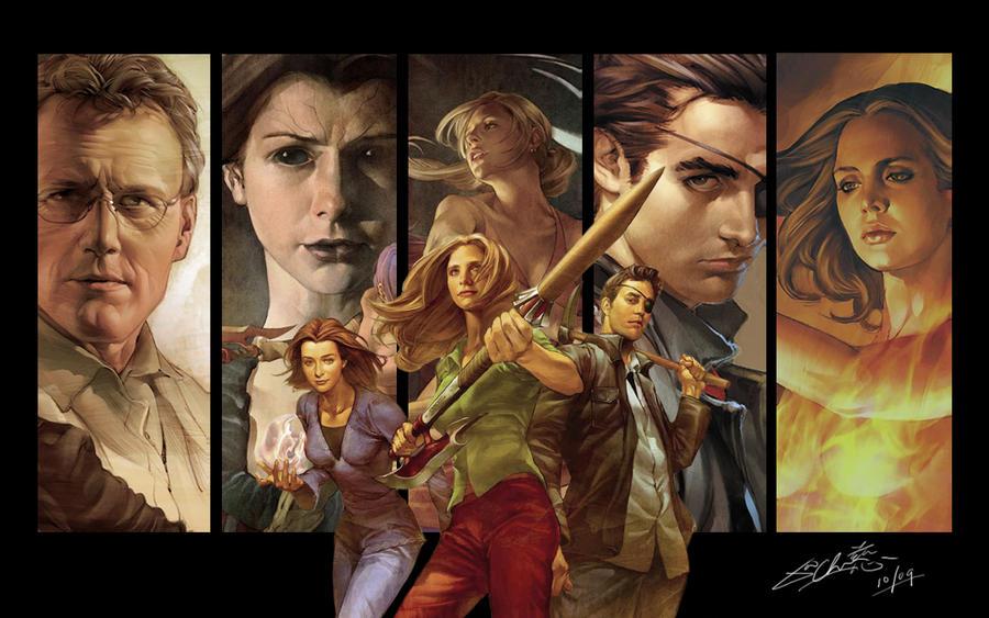 Buffy Season 8 Wallpaper by Bacafreak on DeviantArt
