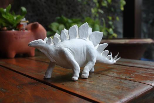 Paperclay Stegosaurus
