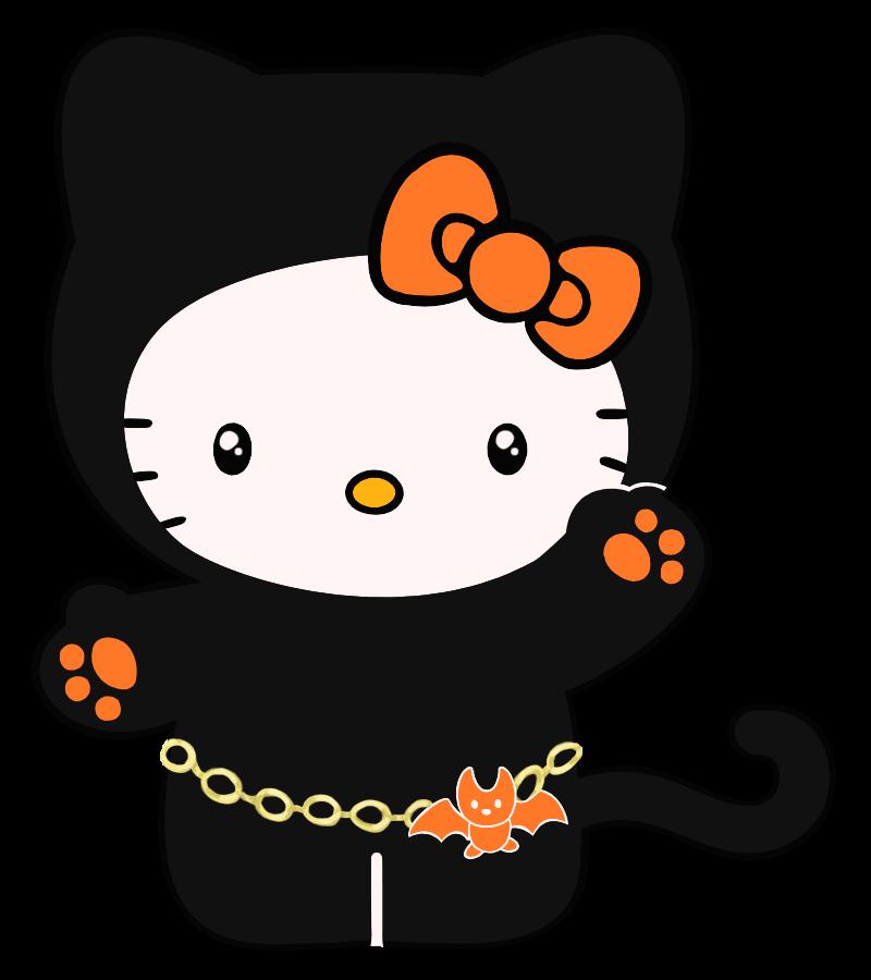 Hello, Halloween Kitty by shynies on DeviantArt