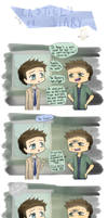 Castiel's Diary ~ Dean's not amused by Reikiwie