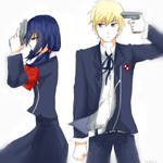 Corpse Party/Persona 3 : Cross-Over