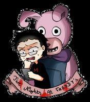 Markiplier : Five Nights at Freddy's by Reikiwie